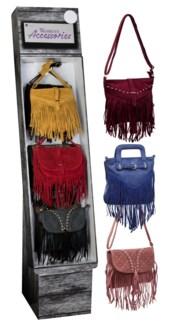 Fringe Crossbody Bags 24 pc Shipper