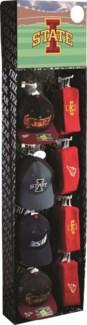 Iowa State Baseball Cpas and Earmuff/Headbands Shipper