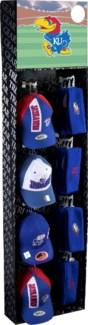 KU Baseball Cpas and Earmuff/Headbands Shipper
