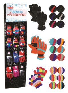 Kids Gloves Assortment Shipper