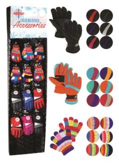 Kids Gloves Assortment Shipper