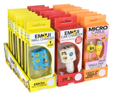 EMOJI Mobile Phone Accessory PDQs 29 pcs