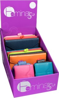 Women's Wallet Collection Assortment of Bright and Colorful 24 pc