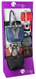 Urban Girl Collection on Femina Endcap Display