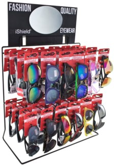 $11.99 Sunglasses - Wire Counter - 48pc