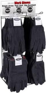 Work Gloves Counter Display - 108pcs