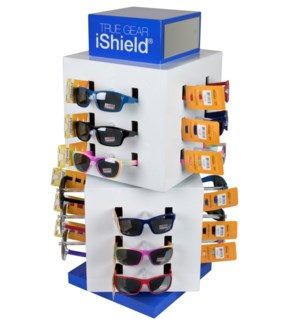 Juniors' Sunglasses on Counter Display - 72pc