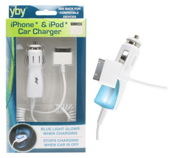 iPhone* & iPod* Car Charger