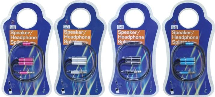 Speaker/Headphone Splitter