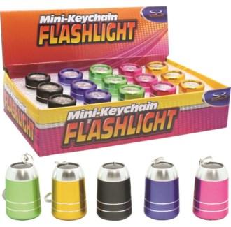 Berrel Keychain Flashlight 15 pc Counter Display